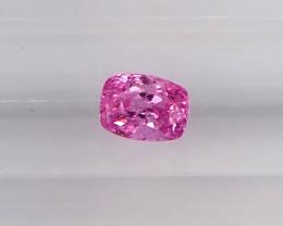 0.92ct unheated pink sapphire