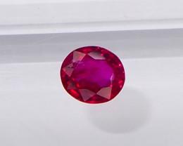0.61ct fine quality unheated burmese ruby
