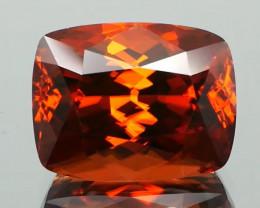 Fiery Red Orange Zircon 11.78 Cts