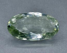 34.57 Crt Amethyst Prasiolite Faceted Gemstone (Rk-11)