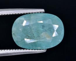3.26 Crt Rare Grandidierite Faceted Gemstone (Rk-11)