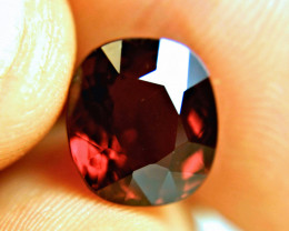 7.0 Carat Natural VVS1 African Rhodolite Garnet - Gorgeous