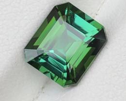 Tourmaline from Afghanistan Bluish Green