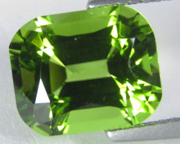 4.62Cts Wow Stunning Natural Peridot Fashion Emerald Cut Collection Gem Ref