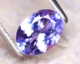 Tanzanite 1.27Ct Natural VVS Purplish Blue Tanzanite D0315/A45