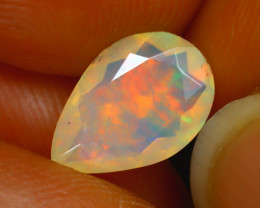 Welo Opal 1.04Ct Natural Ethiopian Play of Color Opal D0324/A44