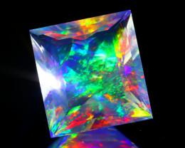 ContraLuz 3.05Ct Octagon Cut Mexican Very Rare Species Opal C0511