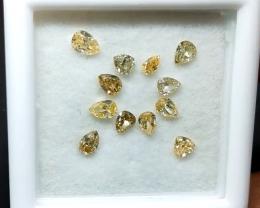 0.90 cts , Fancy Shaped Diamonds , Diamond Parcels , Wholesale Prices