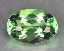 0.53 Cts Untreated Rare Neon Green Tourmaline Natural Gemstone