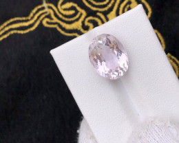 GGI lab certified natural Pink Kunzite ; 8.94 carats
