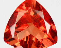 0.93 Cts Very Rare Red Andesine Natural  Gemstone