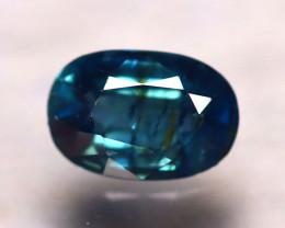 Unheated Sapphire 0.98Ct Natural Blue Sapphire D0501/B9