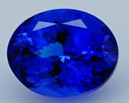 $1200 3.93 CT 10X8 MM D Block Rare Find Natural Blue Tanzanite T1-18