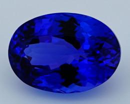 $1600 4.78 CT D Block Rare Find Natural Blue Tanzanite T1-20