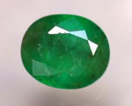 Emerald 2.70Ct Natural Zambia Green Emerald D0511/A38