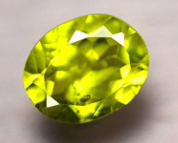 Peridot 2.55Ct Natural Pakistan Himalayan Green Peridot D0513/A10