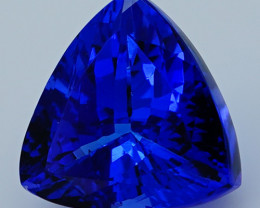 $1600 4.34 CT D Block Rare Find Natural Blue Tanzanite T1-26