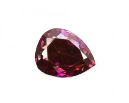 0.13 Cts Natural Flashing purple Pink Diamond Pear Cut  Africa