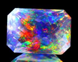 ContraLuz 2.86Ct Precision Cut Mexican Very Rare Species Opal A0532