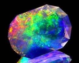 ContraLuz 4.97Ct Oval Cut Mexican Very Rare Species Opal A0535