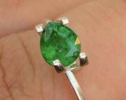 Tsavorite Garnet 1.05 Ct Green Color Rare Natural Tsavorite Garnet