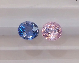 1.39ct Natural unheated sapphires