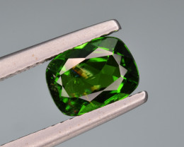 Natural  Green Chrome Diopside 1.73  Cts