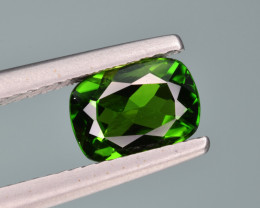 Natural  Green Chrome Diopside 1.32  Cts