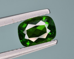 Natural  Green Chrome Diopside 1.56 Cts