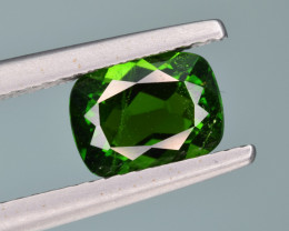Natural  Green Chrome Diopside 1.67  Cts