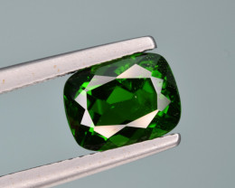 Natural  Green Chrome Diopside 2.51  Cts