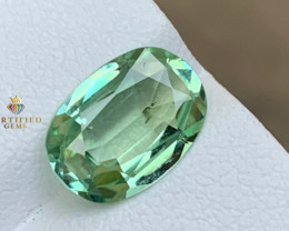 AAA Mint tourmaline from Afghanistan