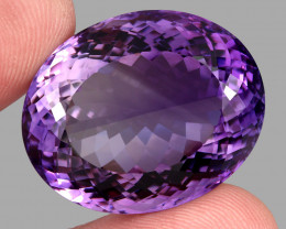 73.55 ct  Natural Earth Mined Top Quality Unheated Purple Amethyst, Uruguay