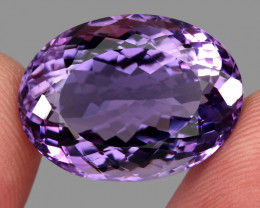 28.01 ct Natural Earth Mined Top Quality Unheated Purple Amethyst,Uruguay