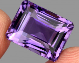 24.58 ct Natural Earth Mined Top Quality Unheated Purple Amethyst,Uruguay