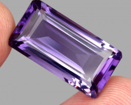 20.01 ct Natural Earth Mined Top Quality Unheated Purple Amethyst,Uruguay