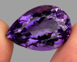 20.71  ct Natural Earth Mined Top Quality Unheated Purple Amethyst,Uruguay