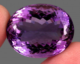 51.61 ct Natural Earth Mined Top Quality Unheated Purple Amethyst,Uruguay