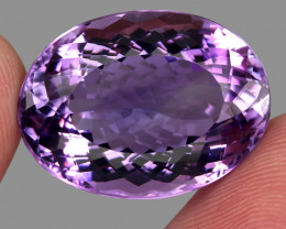 36.24  ct Natural Earth Mined Top Quality Unheated Purple Amethyst,Uruguay