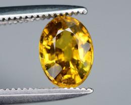 Honey Color 1.00 ct Mali Garnet Ring Size