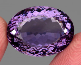52.06 ct Natural Earth Mined Top Quality Unheated Purple Amethyst,Uruguay