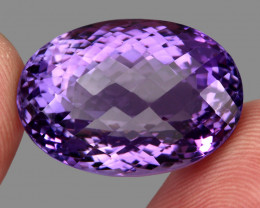 40.08 ct Natural Earth Mined Top Quality Unheated Purple Amethyst,Uruguay