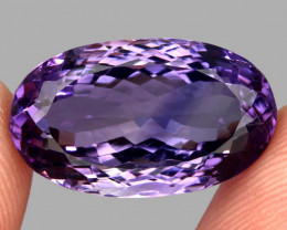 28.85  ct Natural Earth Mined Top Quality Unheated Purple Amethyst,Uruguay