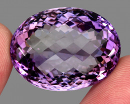 61.05  ct Natural Earth Mined Top Quality Unheated Purple Amethyst,Uruguay