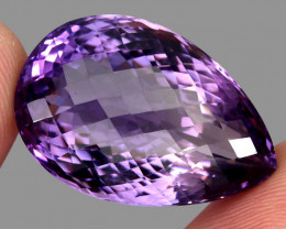 46.85 ct Natural Earth Mined Top Quality Unheated Purple Amethyst,Uruguay