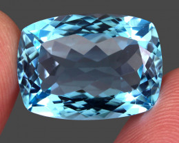 25.52  ct. 100% Natural Earth Mined Top Quality Blue Topaz Brazil