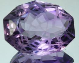 ~CUSTOM CUT~ 11.26 Cts Natural Purple Amethyst Fancy  Cut Bolivia