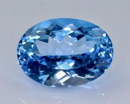 24.29 Crt Topaz Faceted Gemstone (Rk-12)