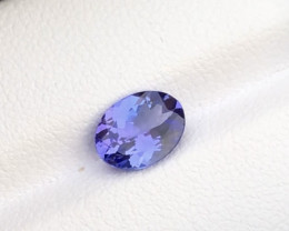 deep Attractive 1.40 ct lovely Tanzanite Ring Size