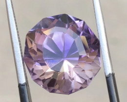 9.45 Carats Natural Amethyst Fancy Cut Stone from Africa